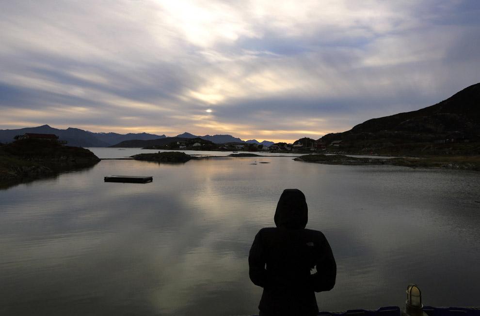 Остров Sommaroy, Норвегия