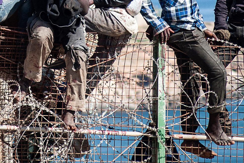 Колючая проволока на заборе мало кого останавливает