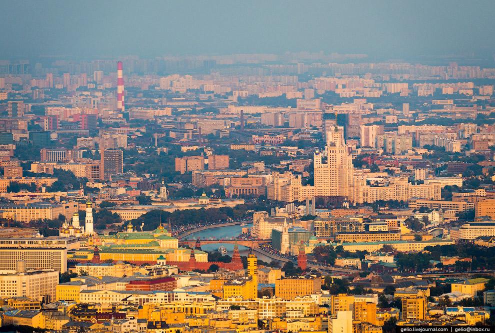 Москва с высоты 2014