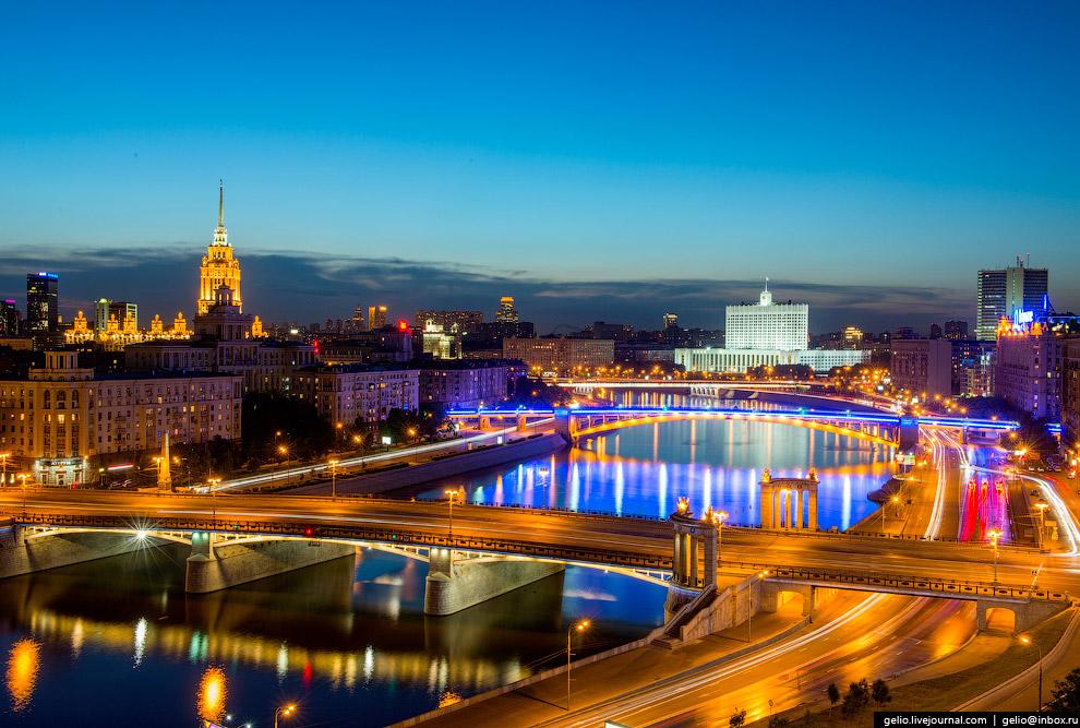 Бородинский мост через Москву-реку