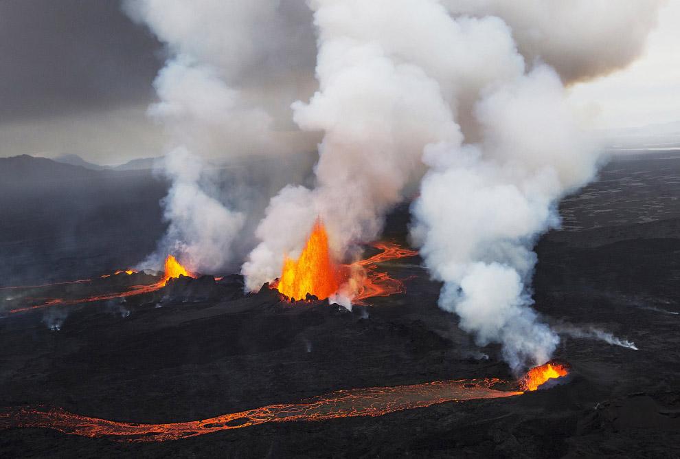 Неземные пейзажи Исландии
