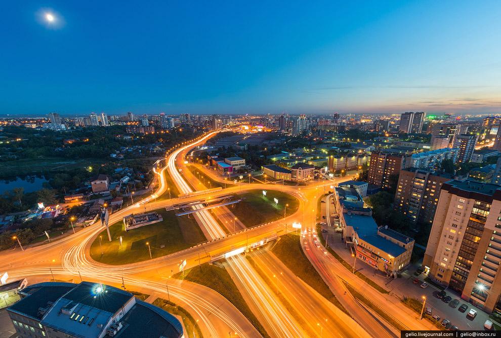 Пересечение Каменской магистрали и ул. Фрунзе