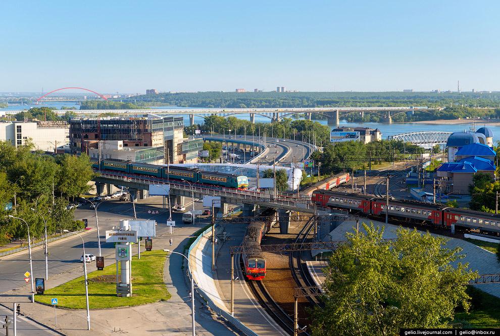 Пересечение Транссиба и Алтайской железной дороги