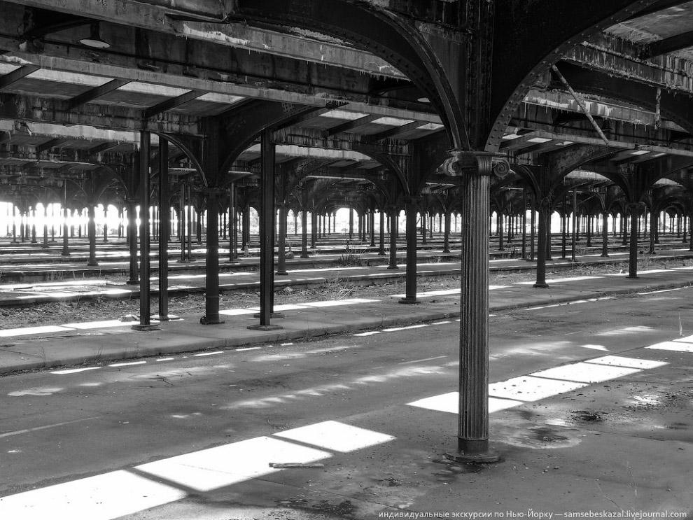 Перроны и навес 1914 года постройки