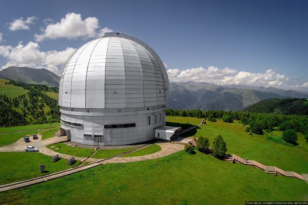 Большой телескоп Альт-азимутальный (БТА)