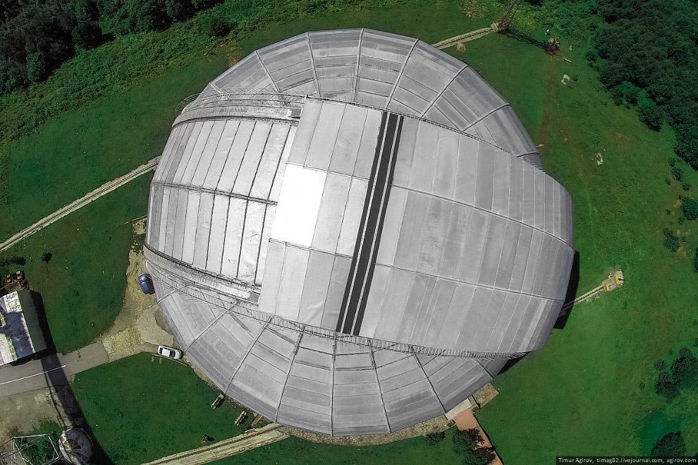 Диаметр купола — около 45 метров