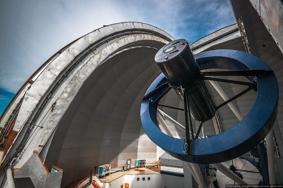 Самый большой телескоп в Евразии