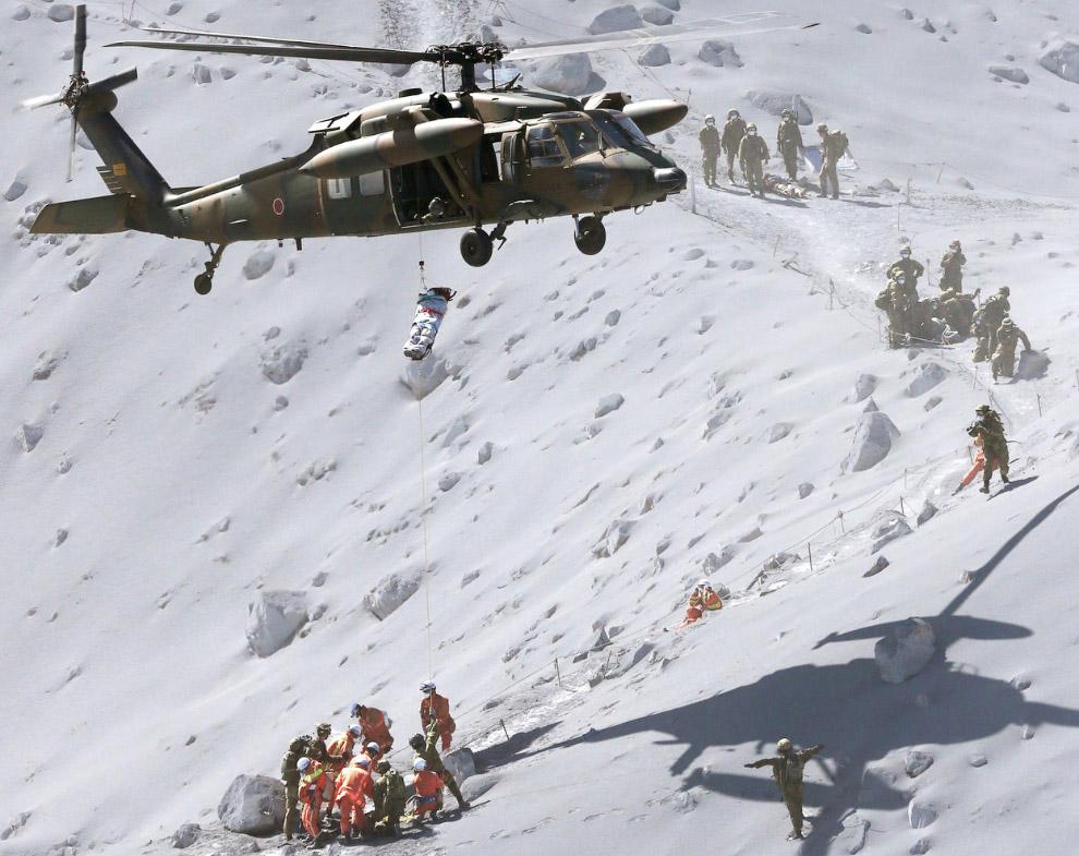 Спасательная операция на горе