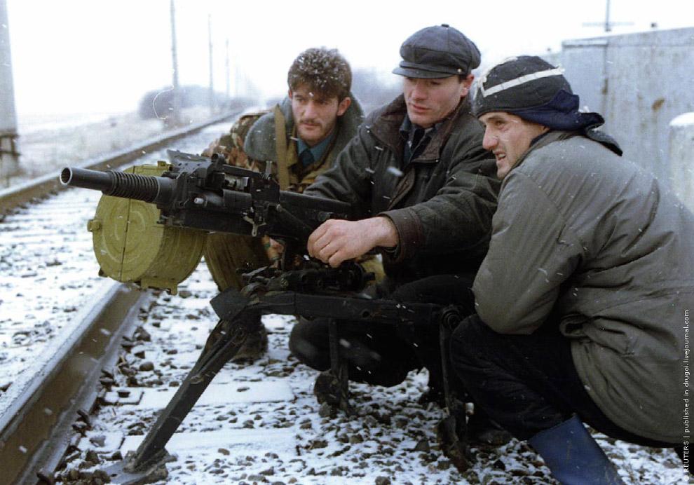 У Ачхой-Мартана их уже ждут дудаевцы, 17 декабря 1994