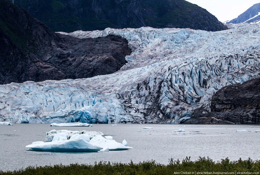 Ледники Аляски