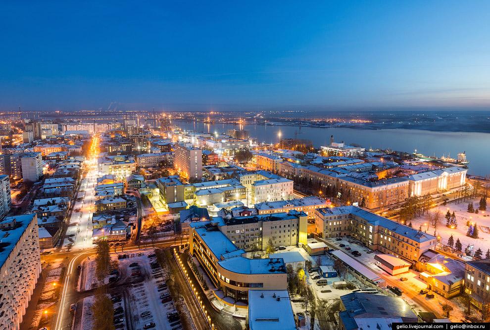 Здание проектных организаций — «Архангельский небоскреб»