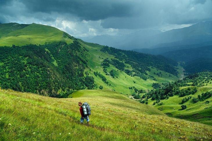 На изумрудных склонах Кавказа