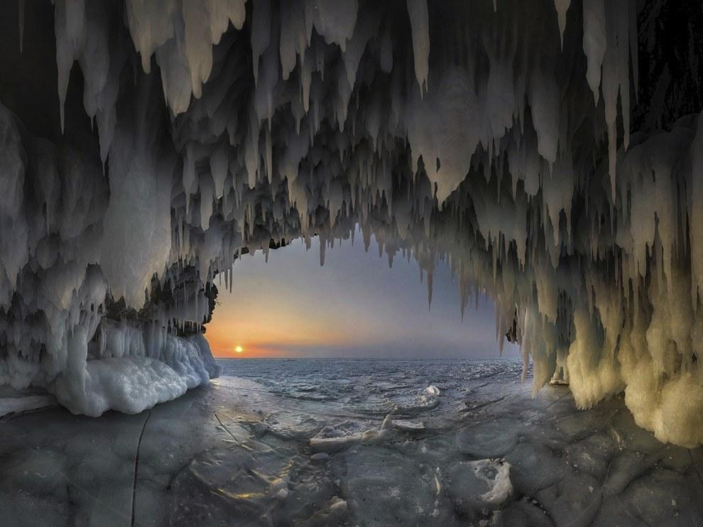 Ледяной грот, Байкал