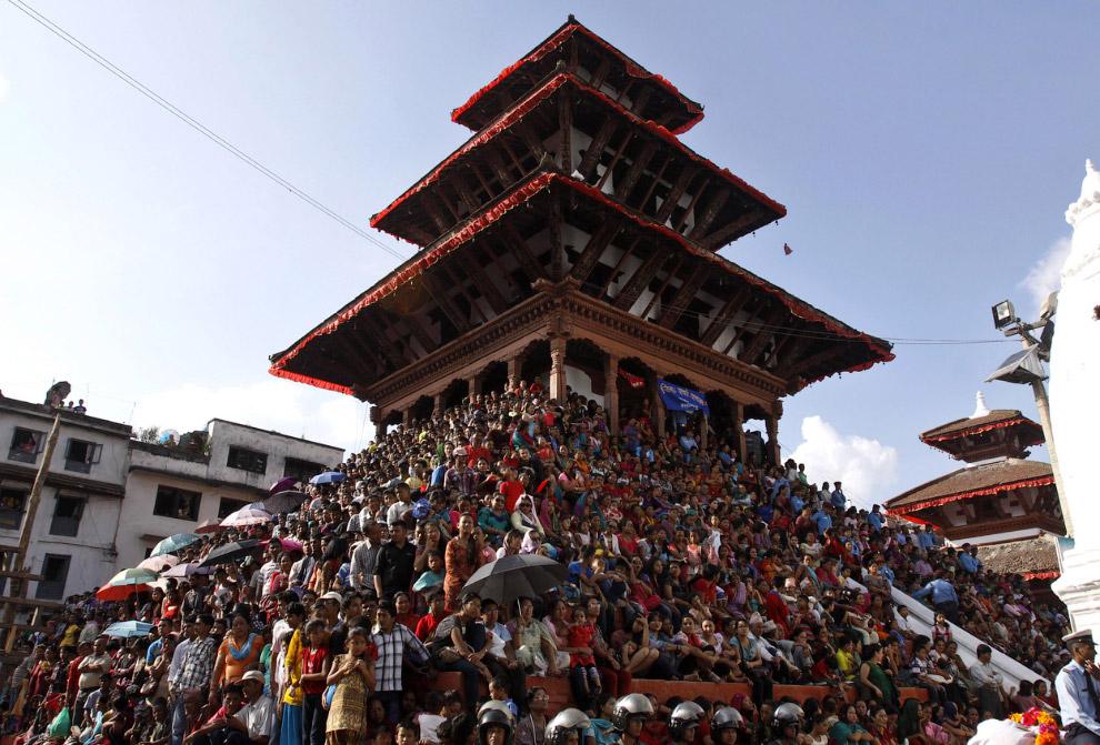 Фестиваль Индра Джатра