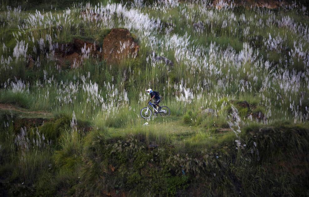 Велосипедная прогулка по горам в Катманду
