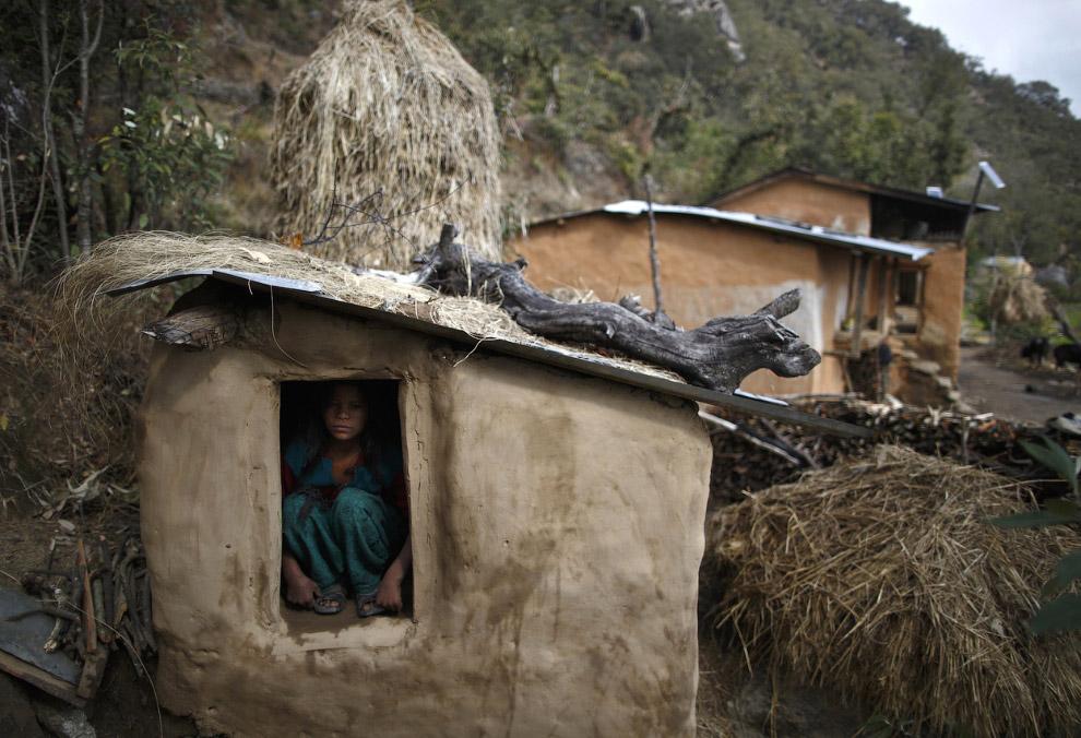 Село в горах западного Непала