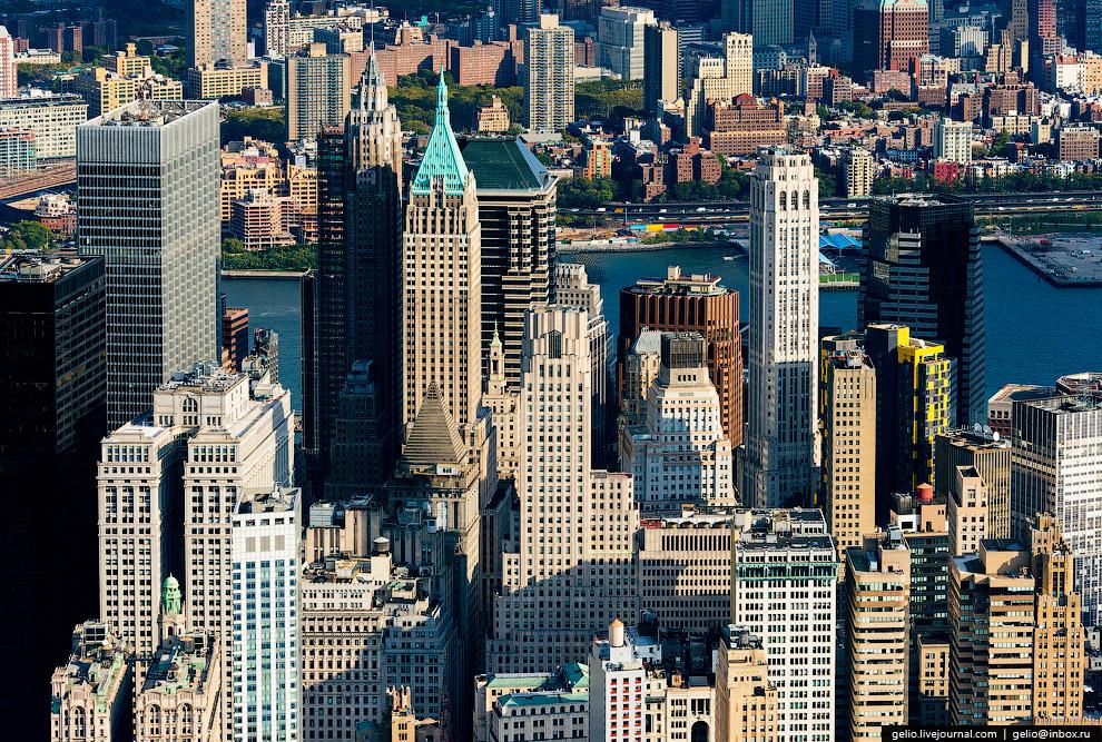 Небоскребы составляют основу современной архитектуры Нью-Йорка