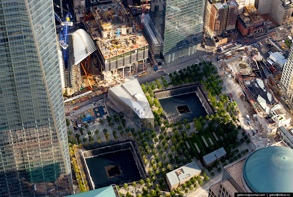Новый Всемирный торговый центр в Нью-Йорке