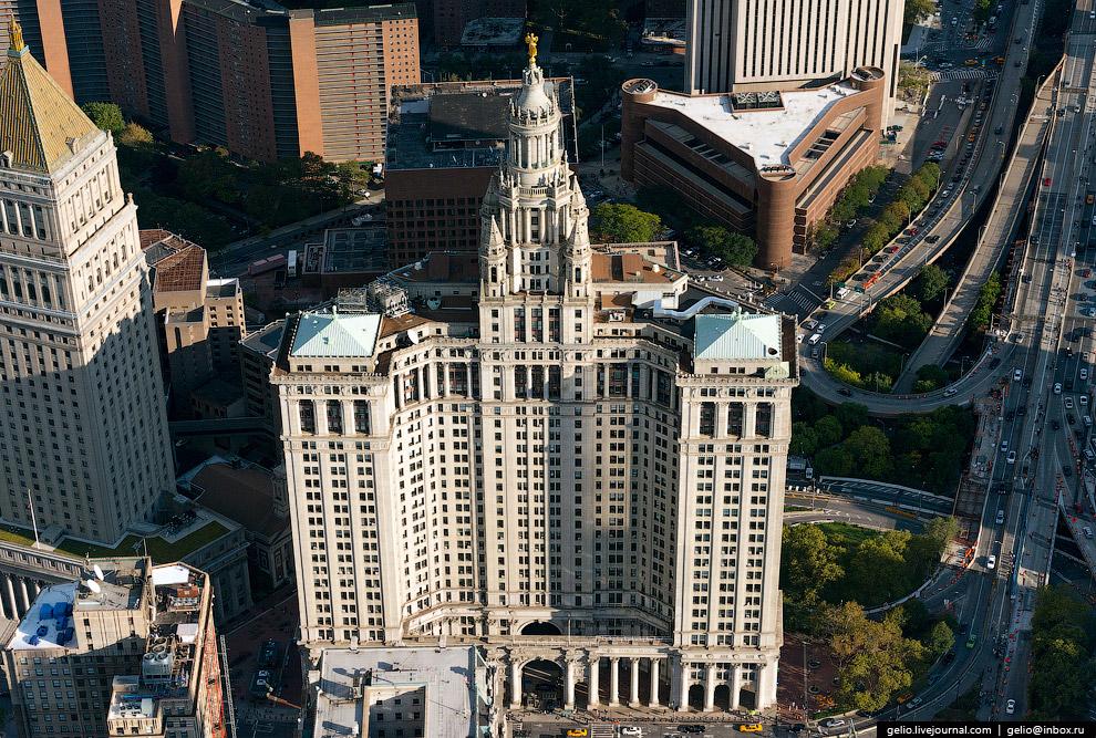 Муниципальное здание Манхэттена (Manhattan Municipal Building)