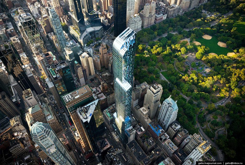 75-этажный жилой небоскреб One 57