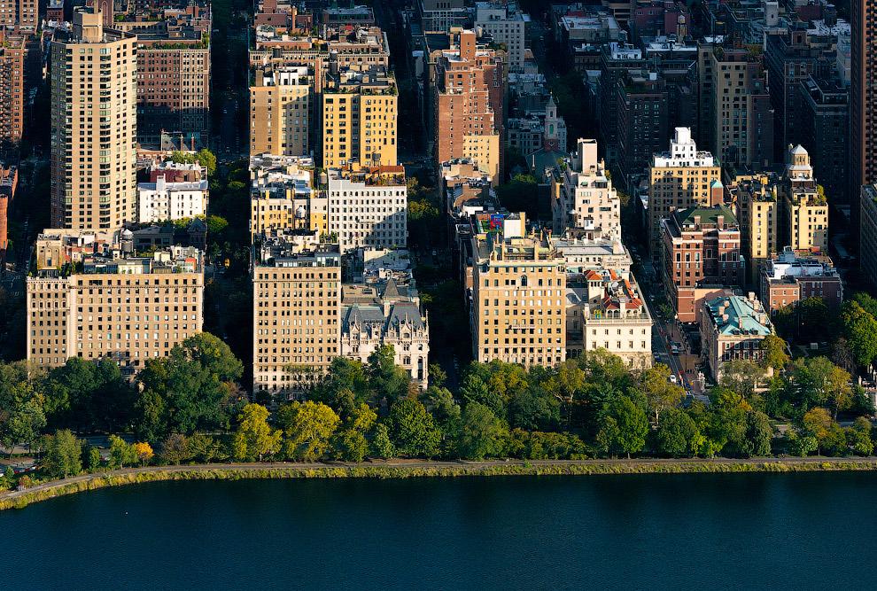 На улицах вокруг Центрального парка самые дорогие дома в Нью-Йорке