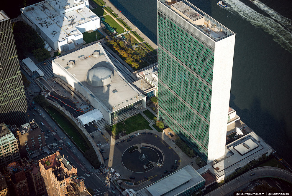 Штаб-квартира ООН (Headquarters of the United Nations)