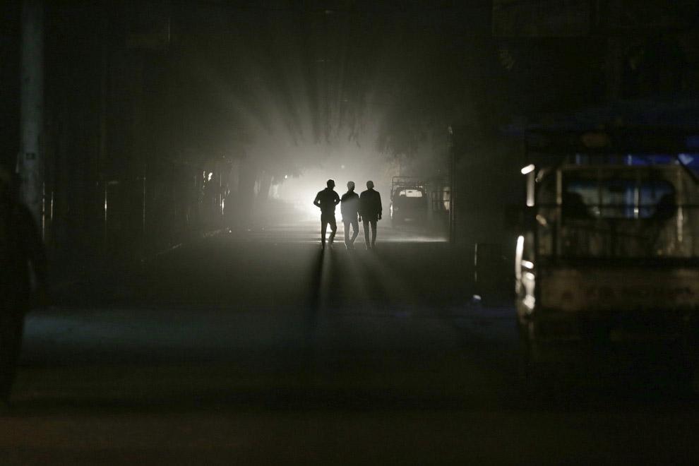 В пригороде Дамаска — Гуте нет электричества