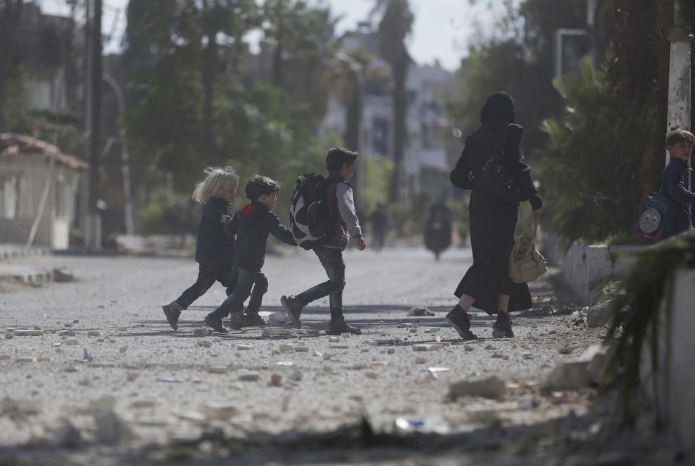 Школьники в Дамаске