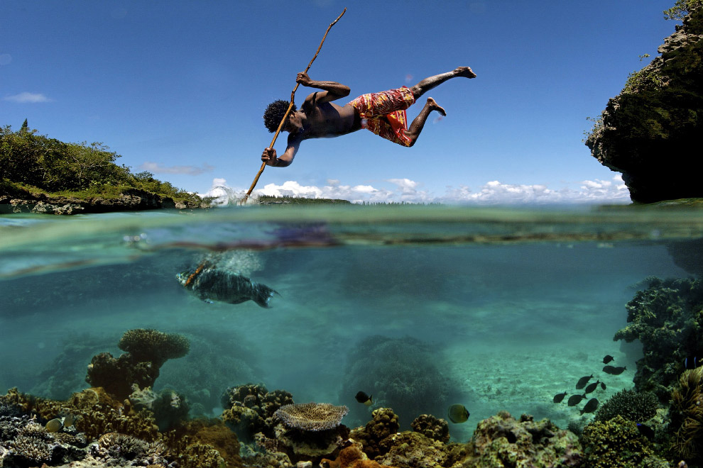 Рыбалка на острове Маре, Новая Каледония