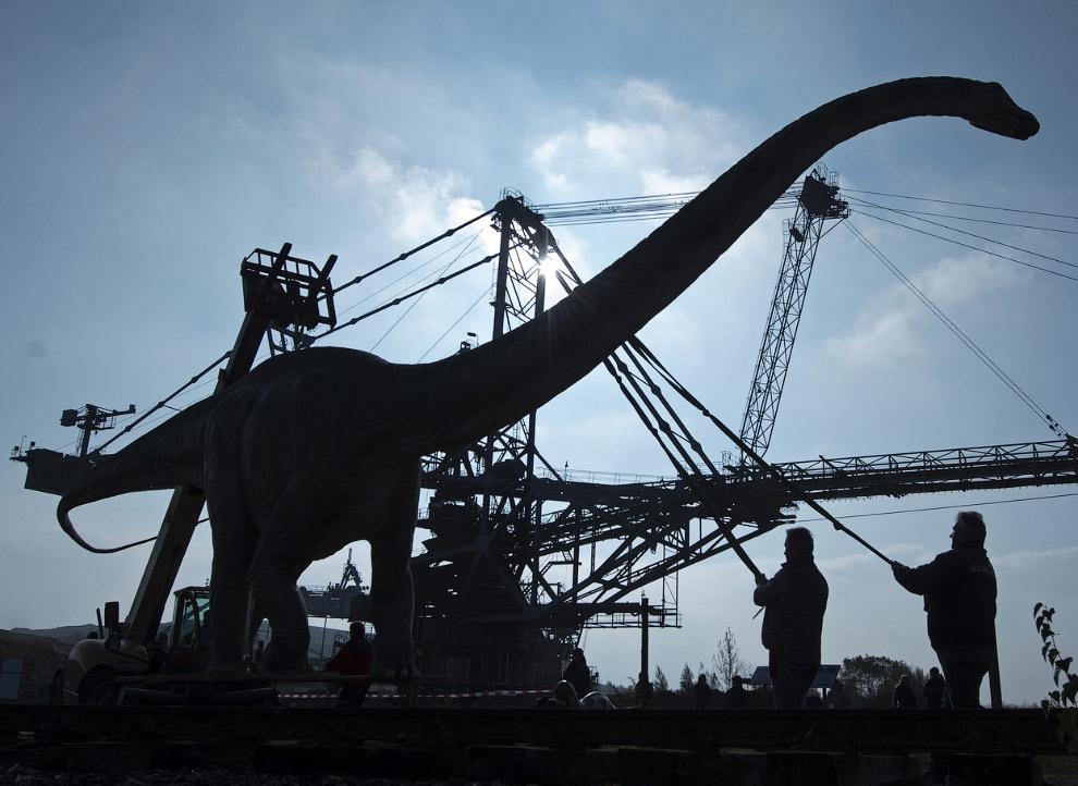 В Лейпциге пройдет выставка «Мир динозавров»