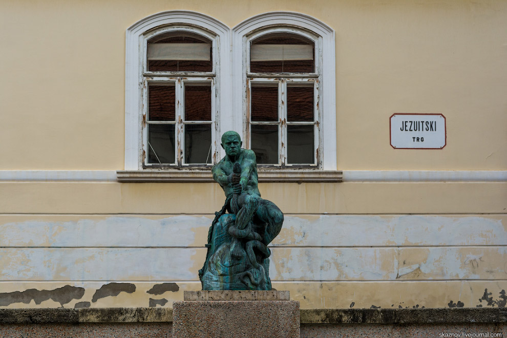 Прогулка по Загребу