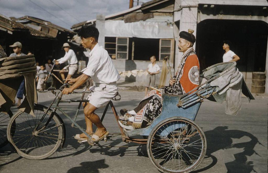 Тайбэй в 1954 году