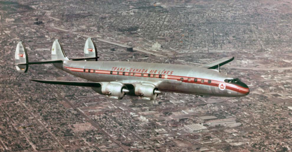 Дальномагистральный Lockheed Constellation