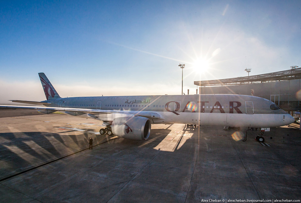 Airbus A350 — самый новый самолет в мире