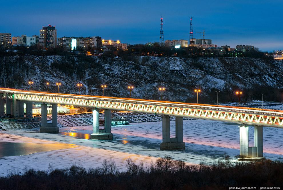 Нижегородский метромост