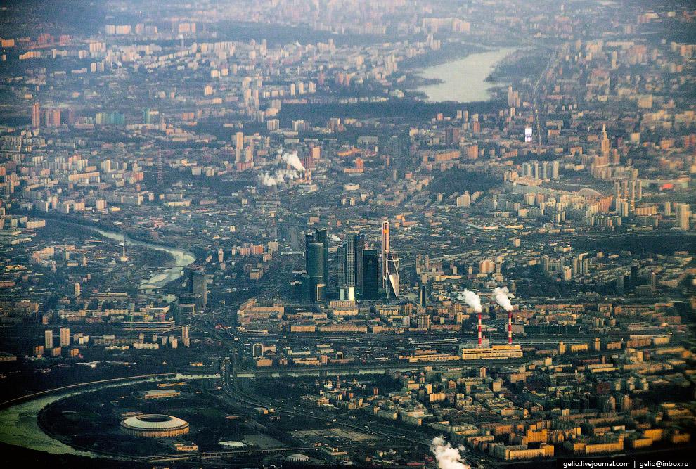 Небоскребы «Москва-Сити»