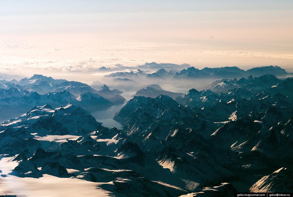 Горы Гренландии