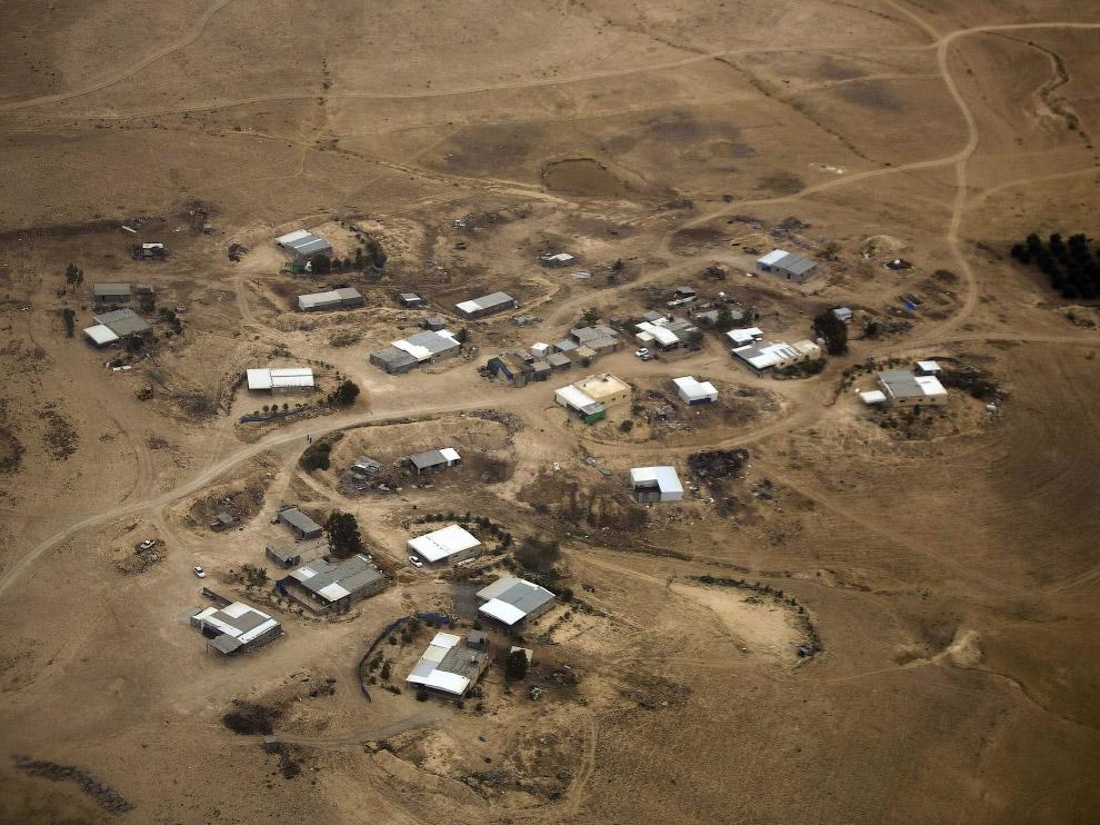 Бедуинская деревня в Израиле