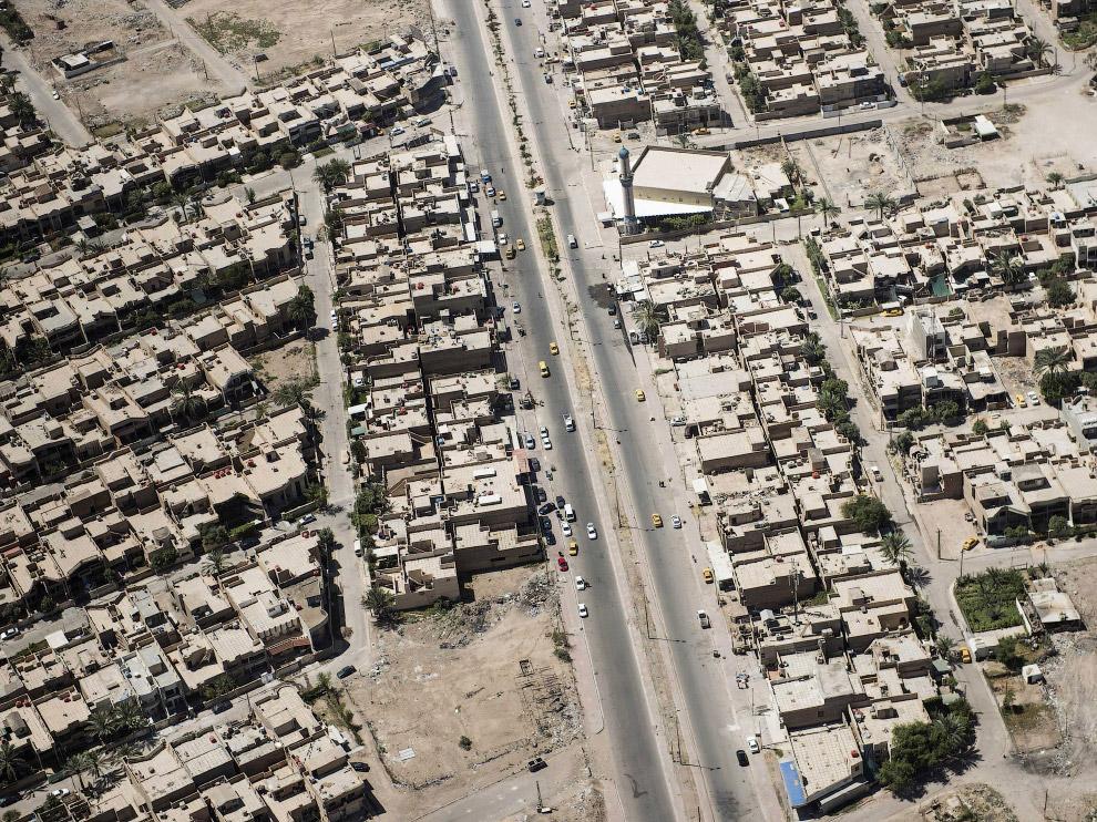 Улицы и дома иракской столицы Багдада
