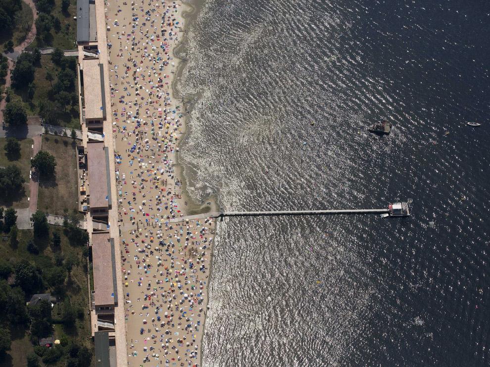 Пляж недалеко от Берлина