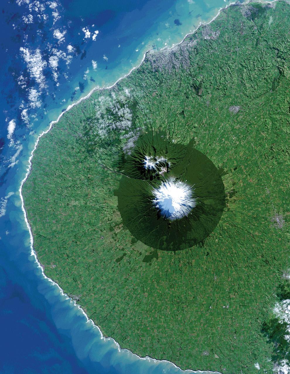 Национальный парк Эгмонт в Новой Зеландии