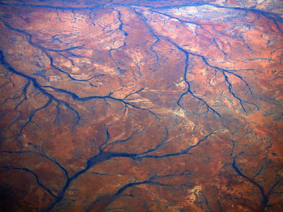 Высохшие реки в регионе Пилбара, Западная Австралия