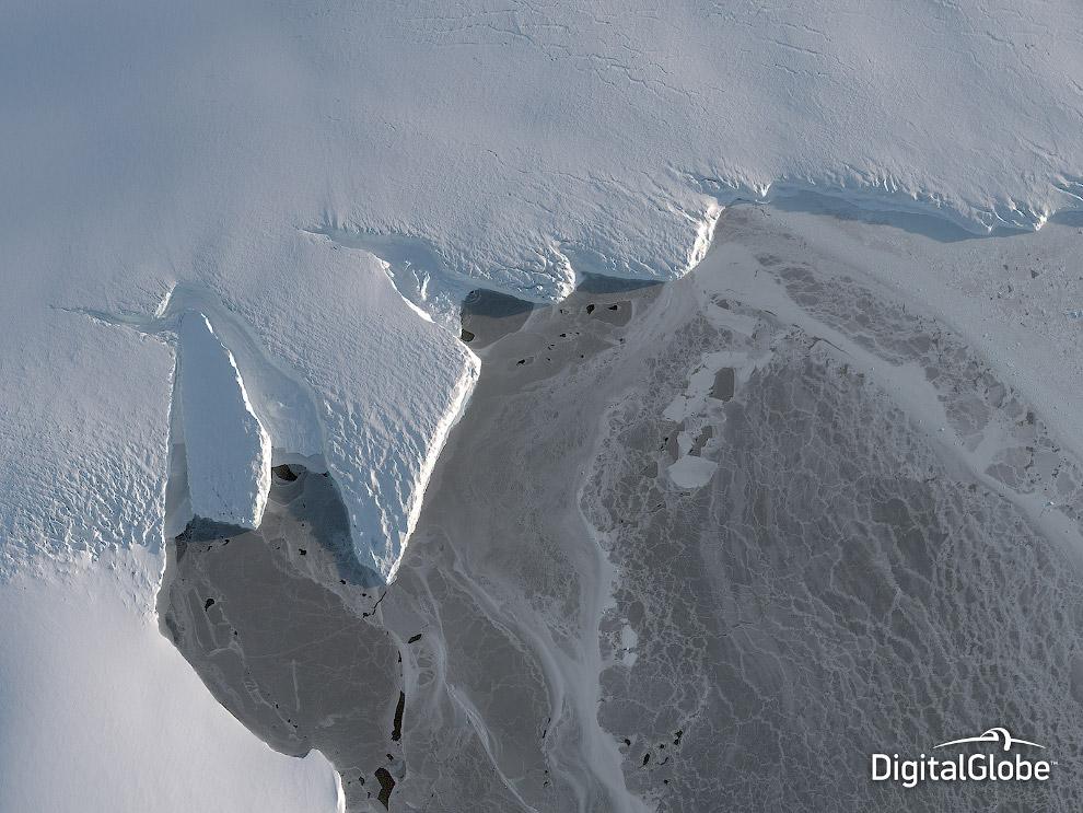 Ледяная Антарктида