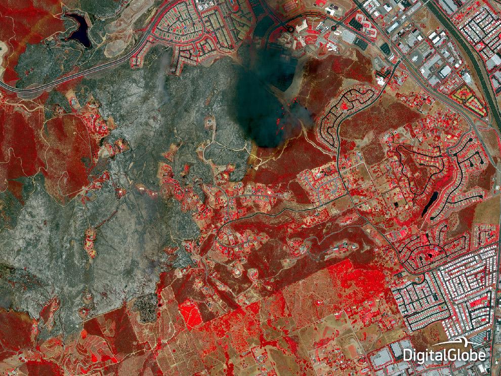 Пожар в Сан-Диего