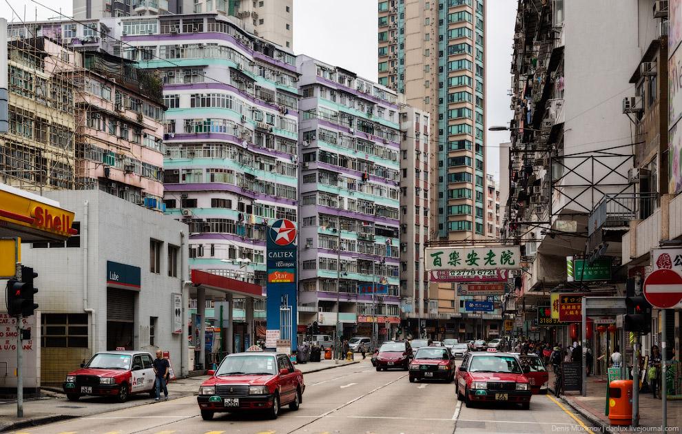Все такси в Гонконге - исключительно Тойоты Кроун