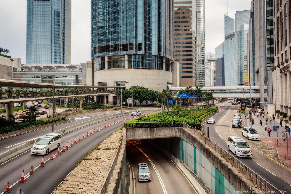 В Гонконге отличная транспортная инфраструктура