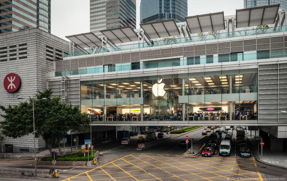 Главный ЭпплСтор в Гонконге