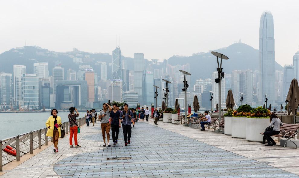 Гонконгская Аллея звезд