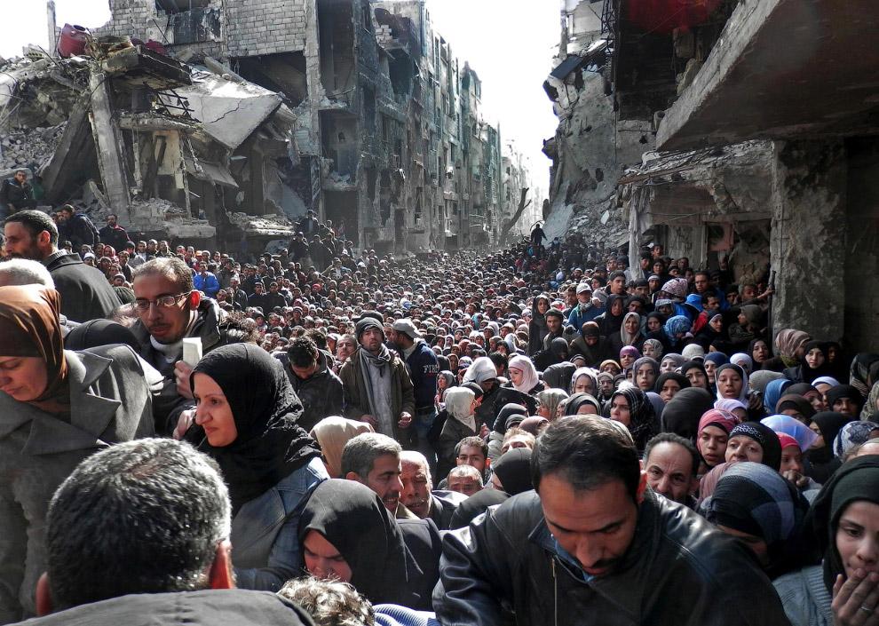 Последствия войны в Сирии