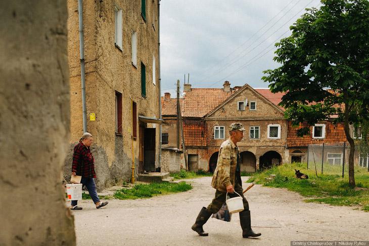 Старые немецкие города Калининградской области